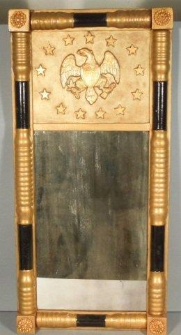 16: American Federal Eagle Mirror Circa 1825