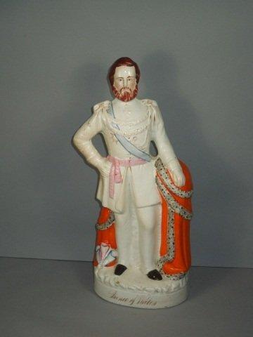 18: English Staffordshire Figure of Prince Albert