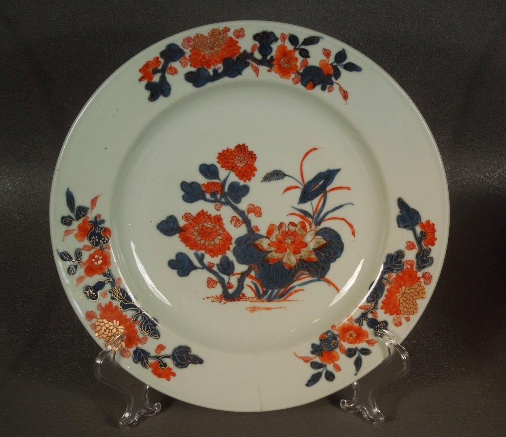5: Chinese Imari 18th Century Porcelain Plate