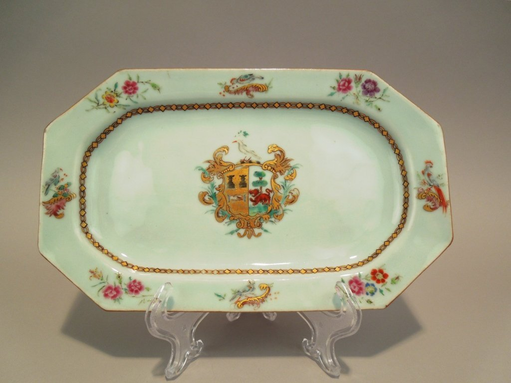 10: Chinese 18th Century Qianlong Armorial Platter