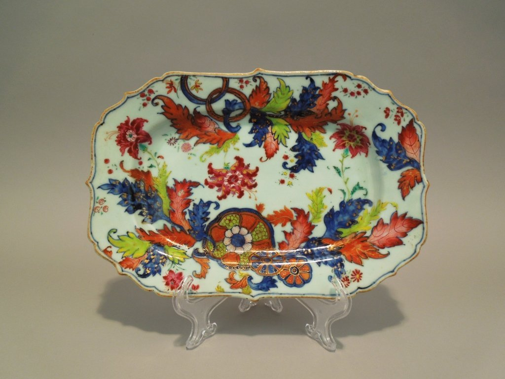 11: Chinese Tobacco Leaf Qianlong Period Platter