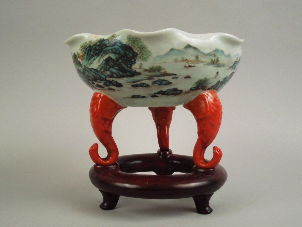 94: Important Antique Chinese Taste Porcelain Bowl