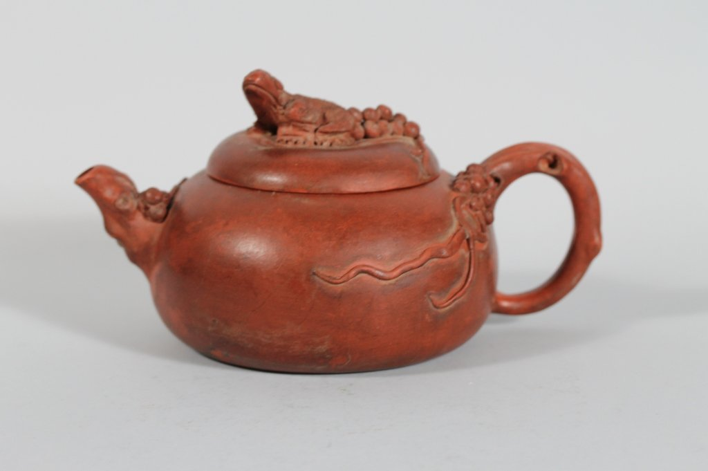 13: Fine Chinese Yixing Seal Marked Teapot