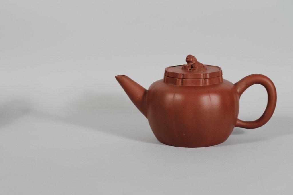 15: Vintage Chinese Yixing Seal Marked Teapot
