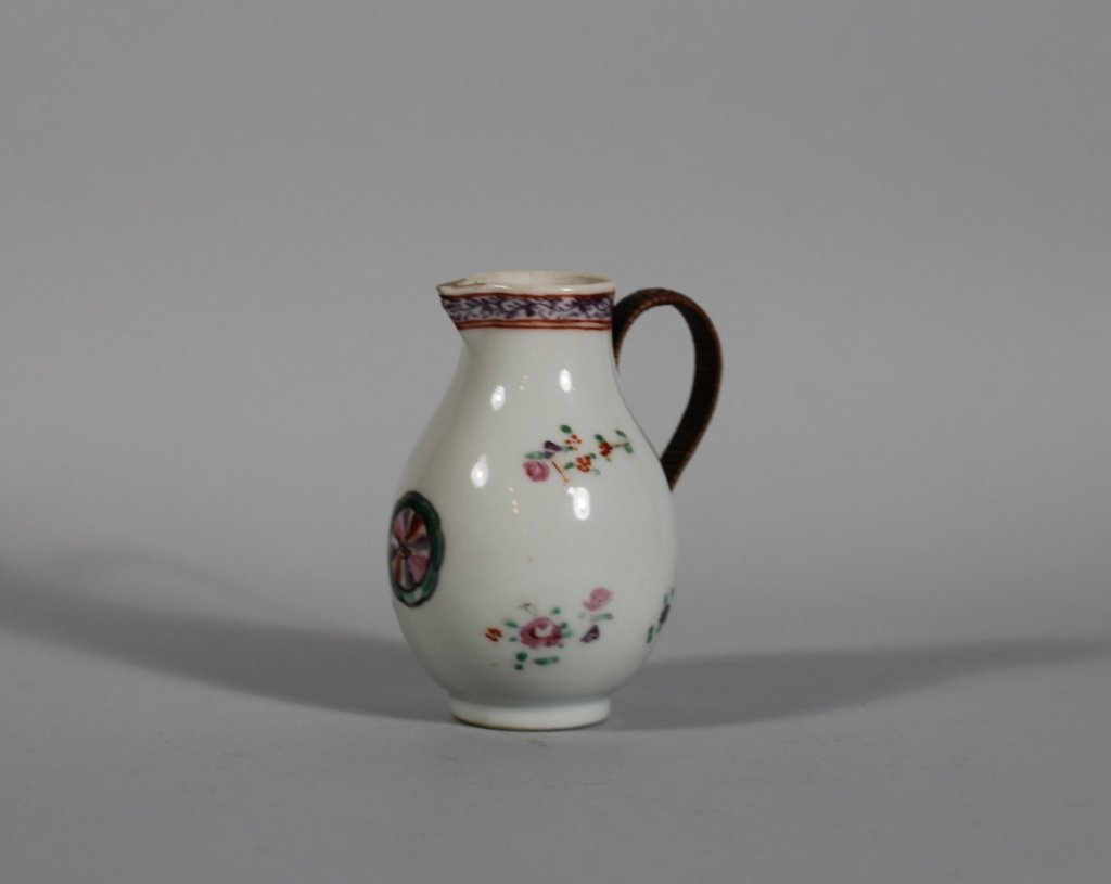 20: 18th c. Chinese Famille Rose Toy Cream Jug
