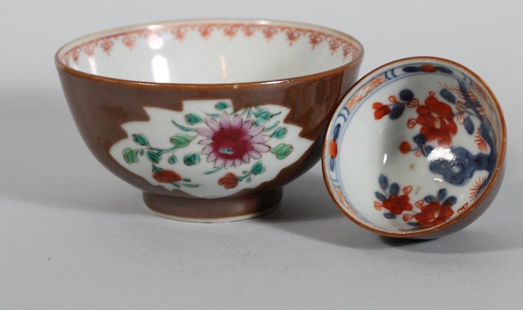 21: Chinese 18th c. Batavia Ware Bowls