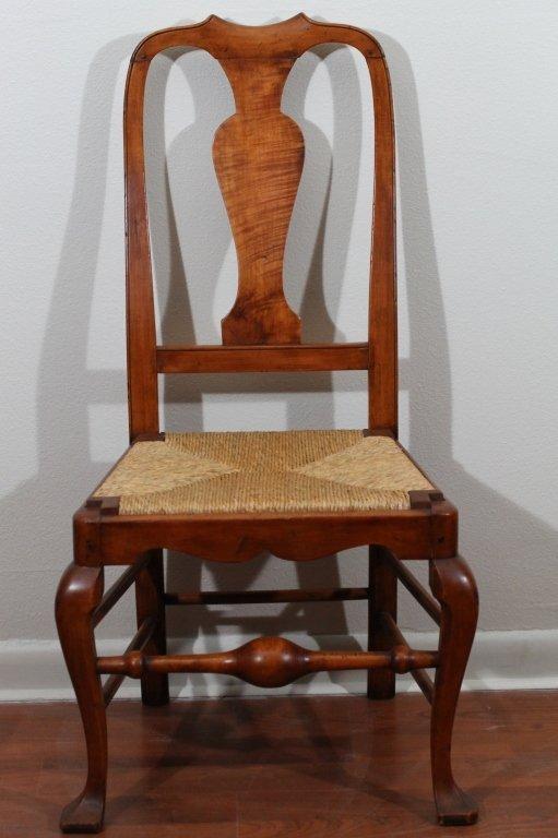 363: Philadelphia Queen Ann William Savery Chair