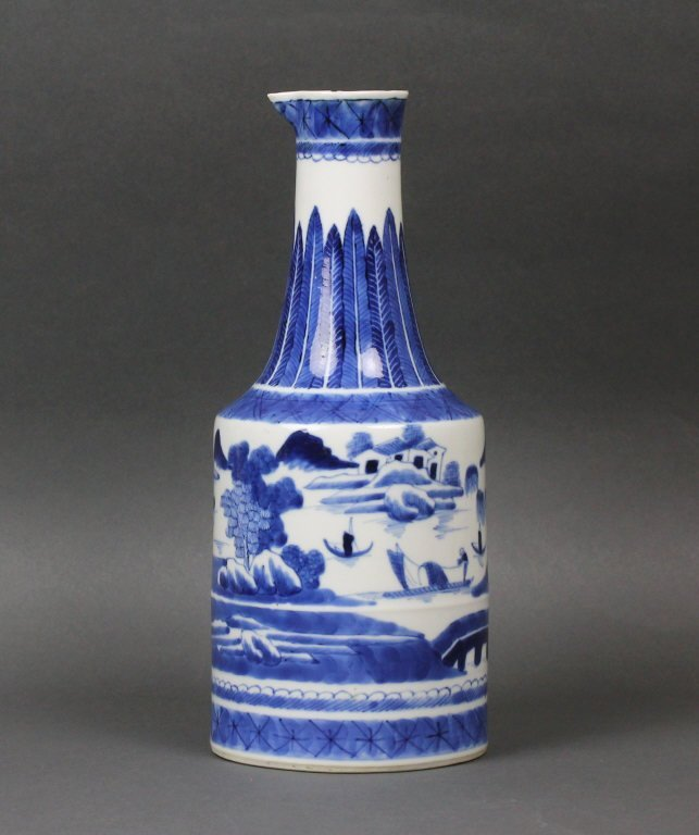 Chinese Antique Blue and White Ewer