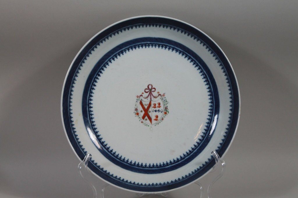 Chinese Export Armorial Arms of Anderson Bowl