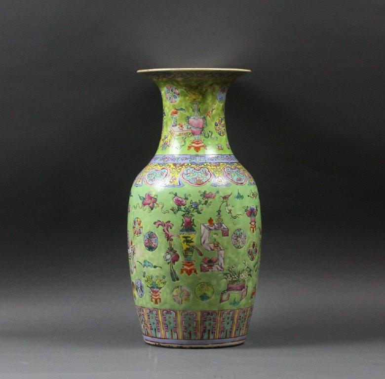 Antique Large Chinese Taste Daoguang Vase