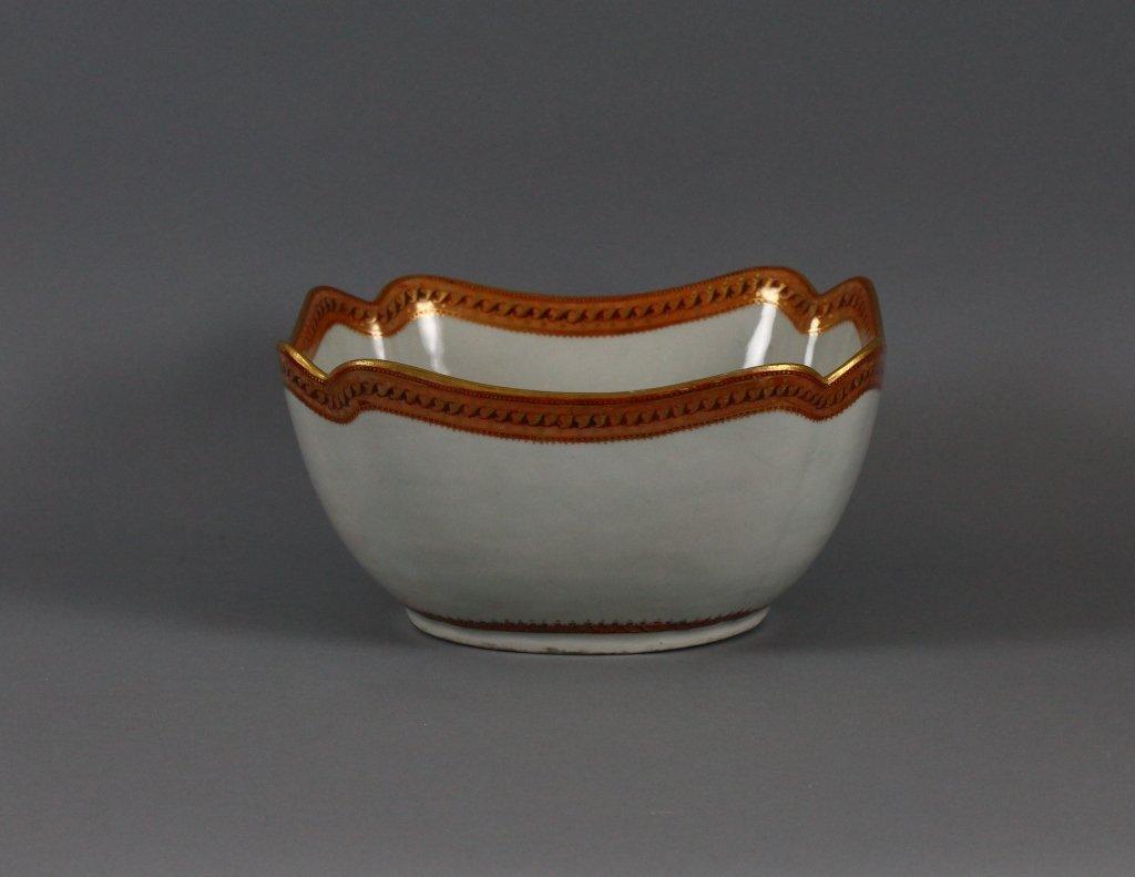 Chinese Export 19th c. Cut Corner Bowl circa 1820