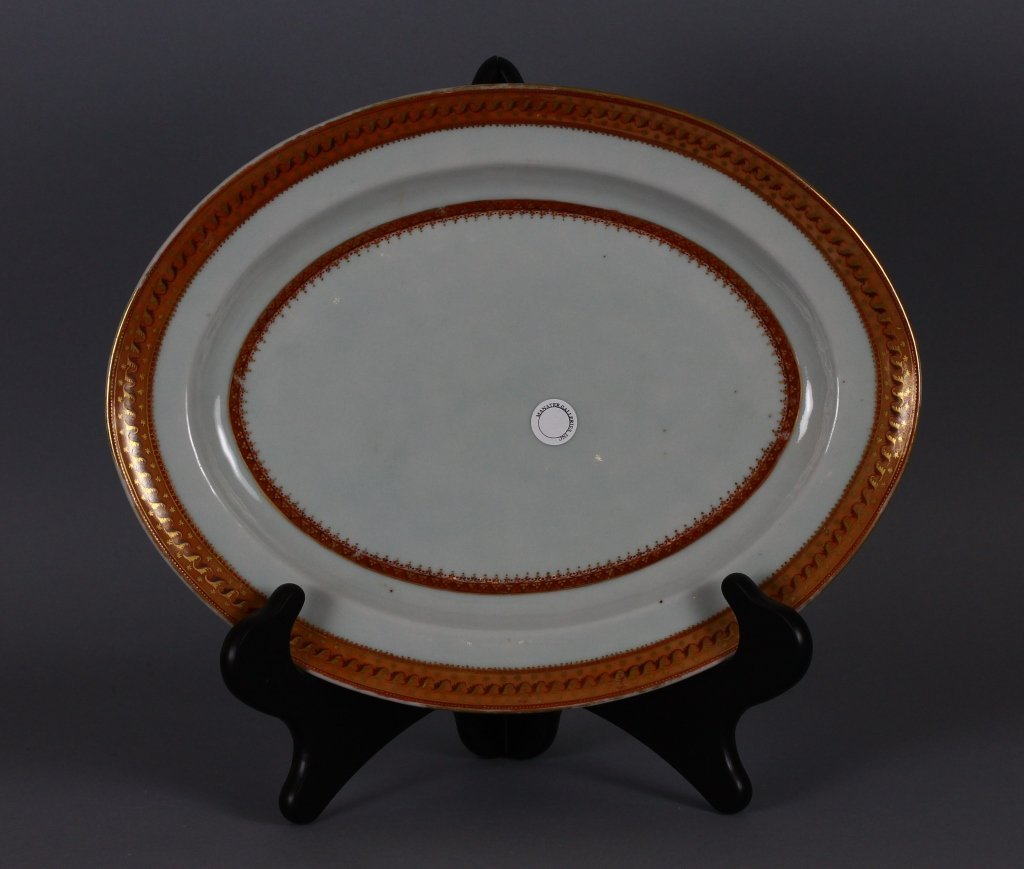 Chinese Export 19th c. Serving Platter circa 1820