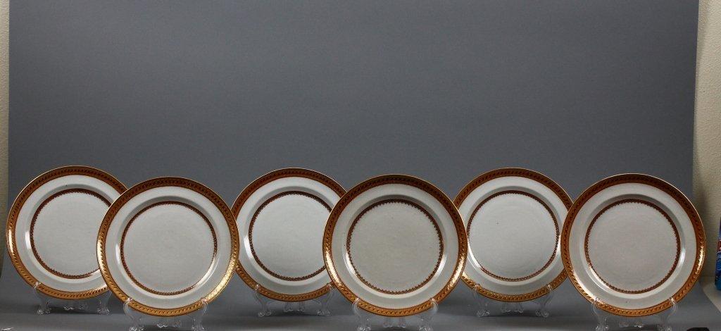 Six Chinese Export 19th century Bowls circa 1820