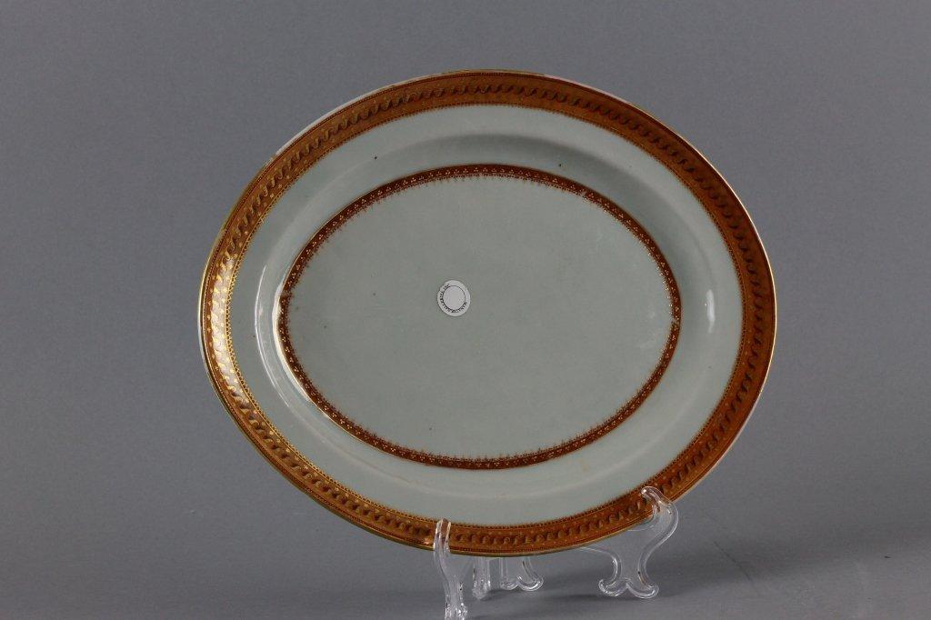Chinese Export 19th century Platter circa 1820
