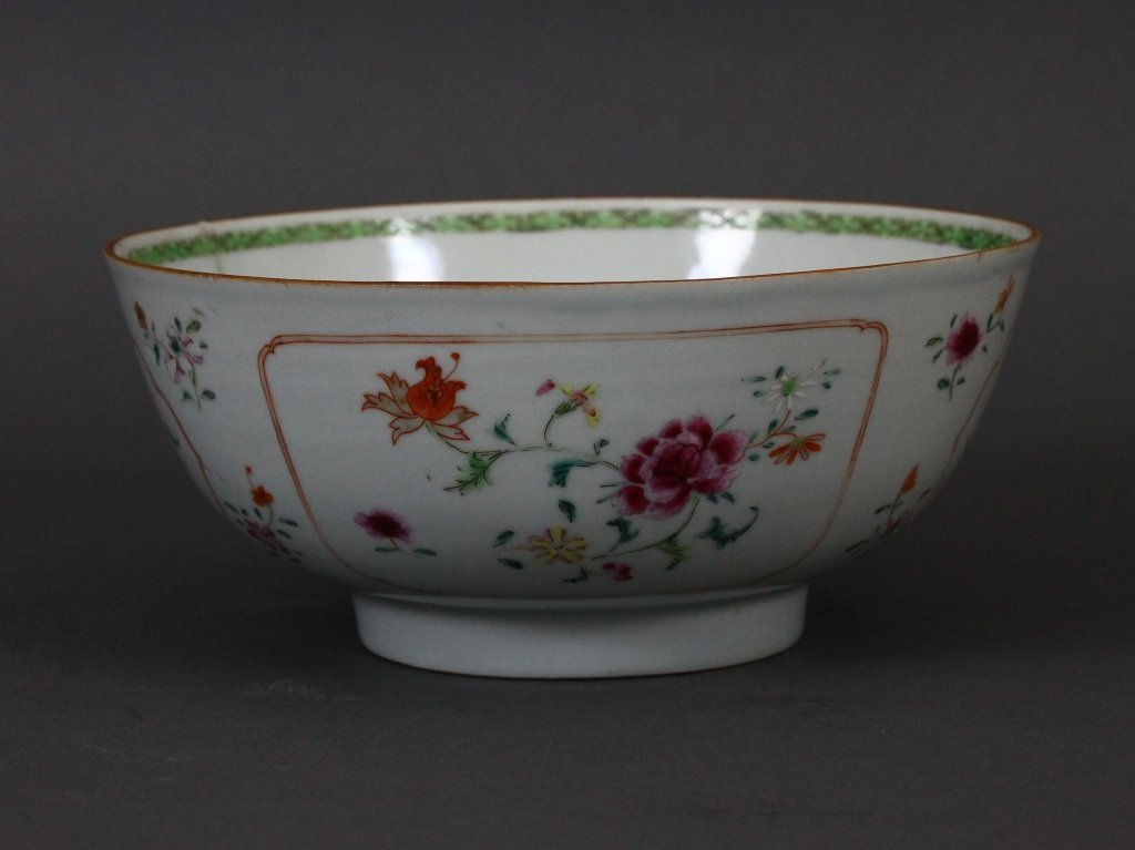 18th century Famille Rose Chinese Export Bowl