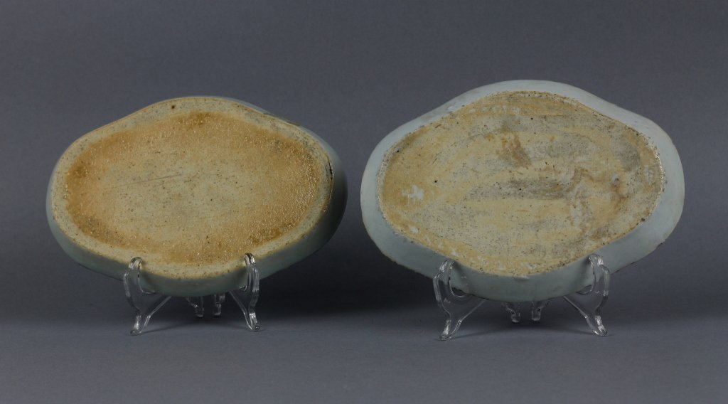 Two Chinese Export 18th c. Blue and White Trays - 2