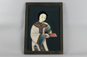 Antique Chinese Reverse Painting