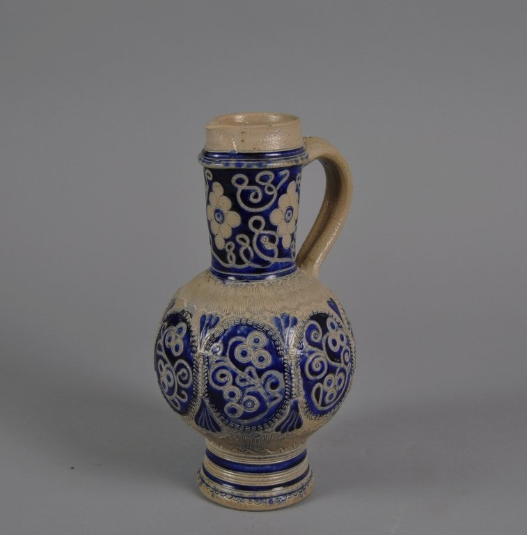 Westerwald 17/18th century Salt Glazed Jug