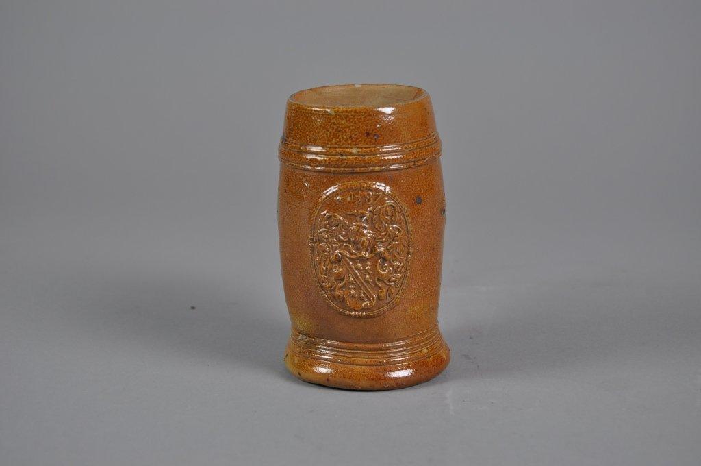 Frechen Stoneware Bartmann Krug Dated 1587 Mug