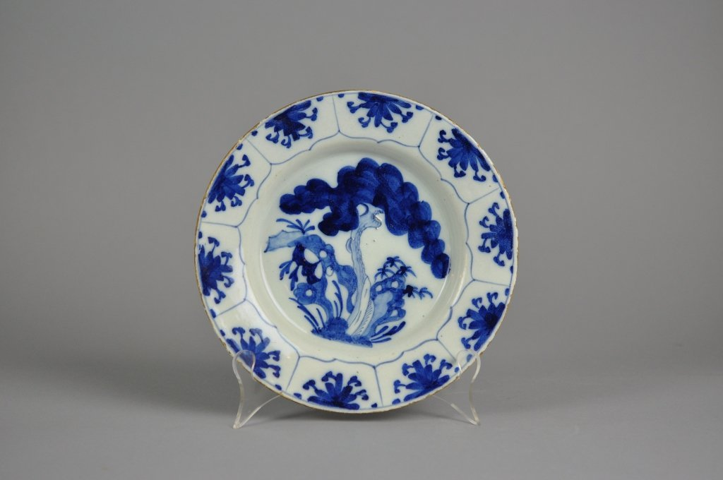 Delft 18th century Blue and White Plate
