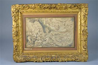 "Important ""Karel I van Mander"" Allegory Scene"