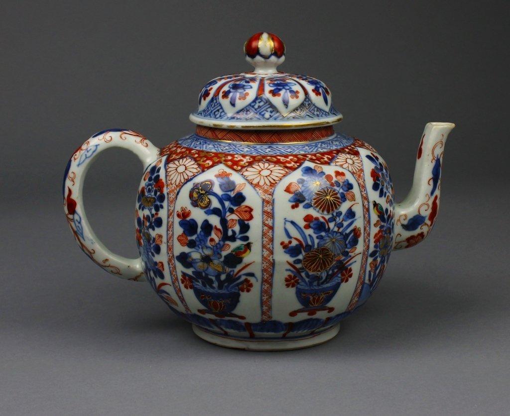 Chinese Imari Punch Pot circa 1745