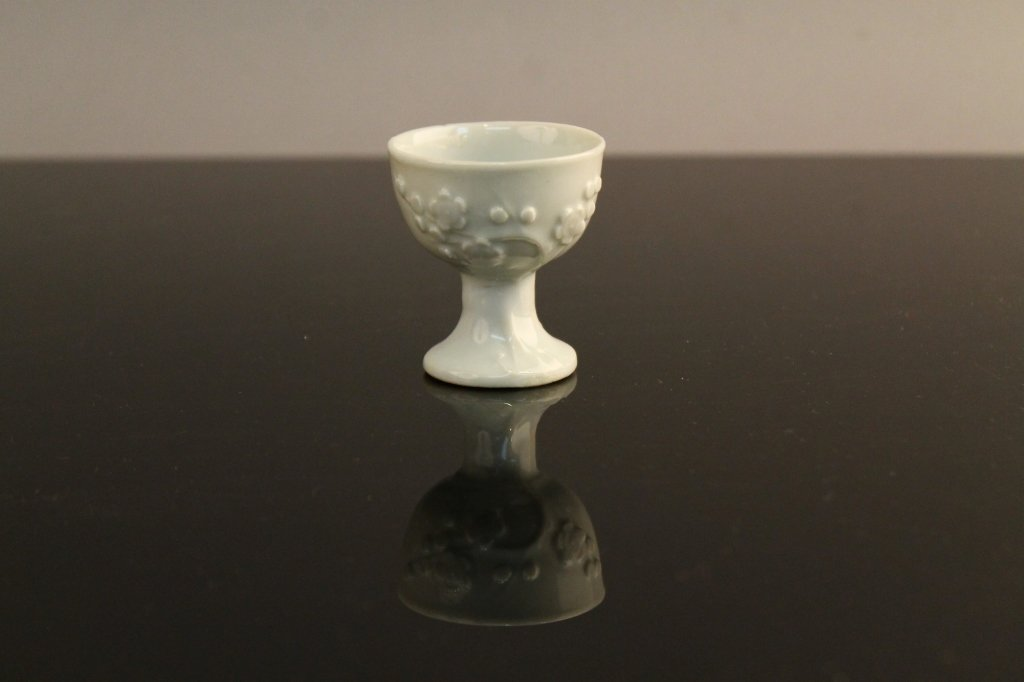 Chinese Dehua Blanc de Chine c. 1700 Stem Cup