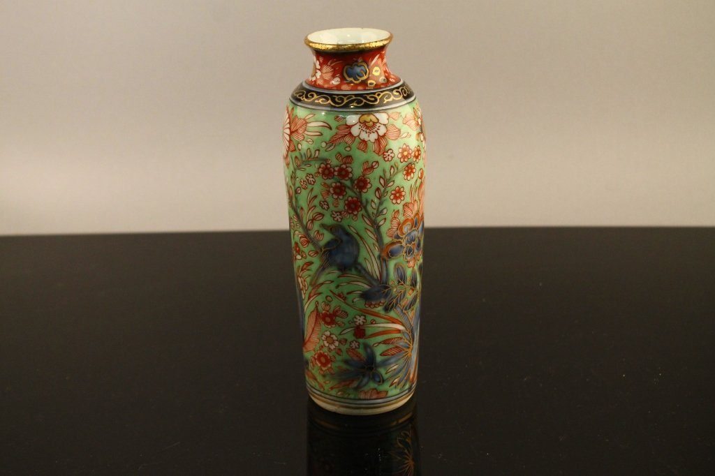 Chinese Transitional Period B/W Sleeve Vase c.1620