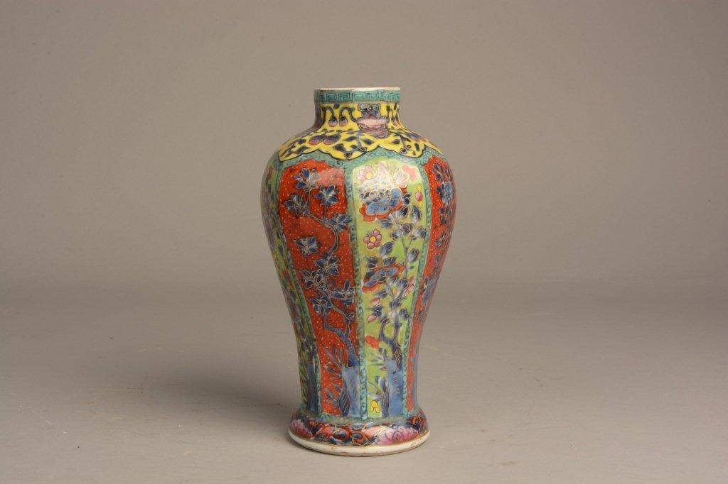 Chinese Kangxi Clobbered Vase, C. 1690