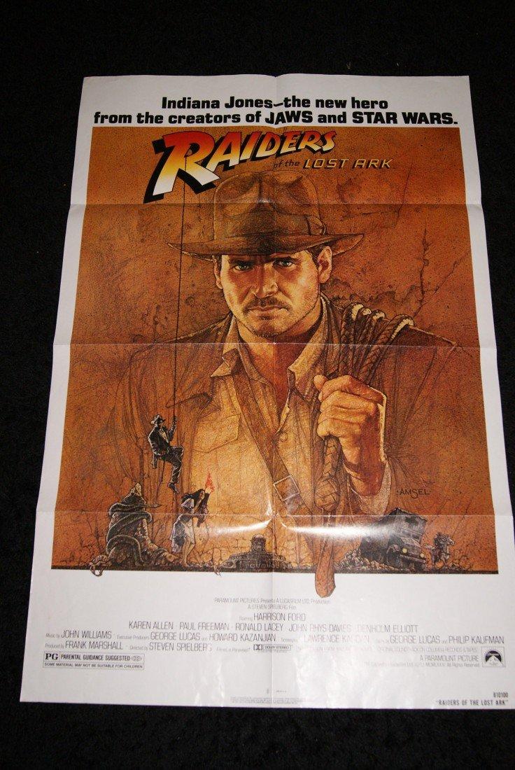 5: Raiders of the Lost Ark Movie Poster - Original