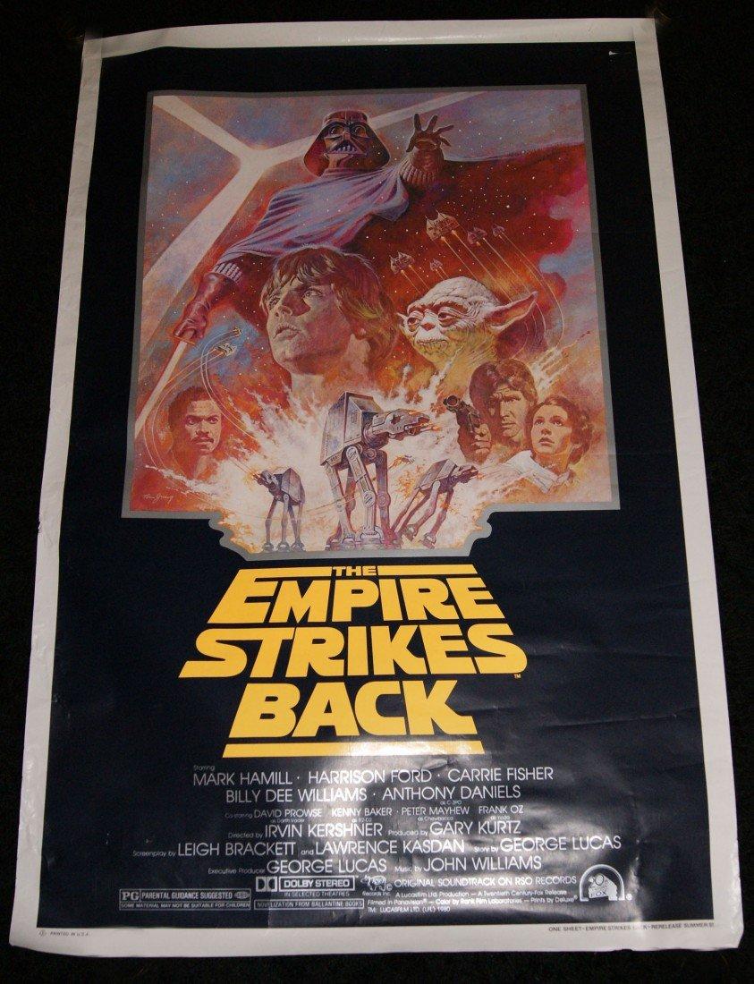 10: Empire Strikes Back Movie Poster
