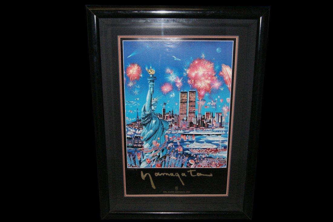 "20: Hiro Yamagata #208/1986 ""Liberty's Birthday"" poster"