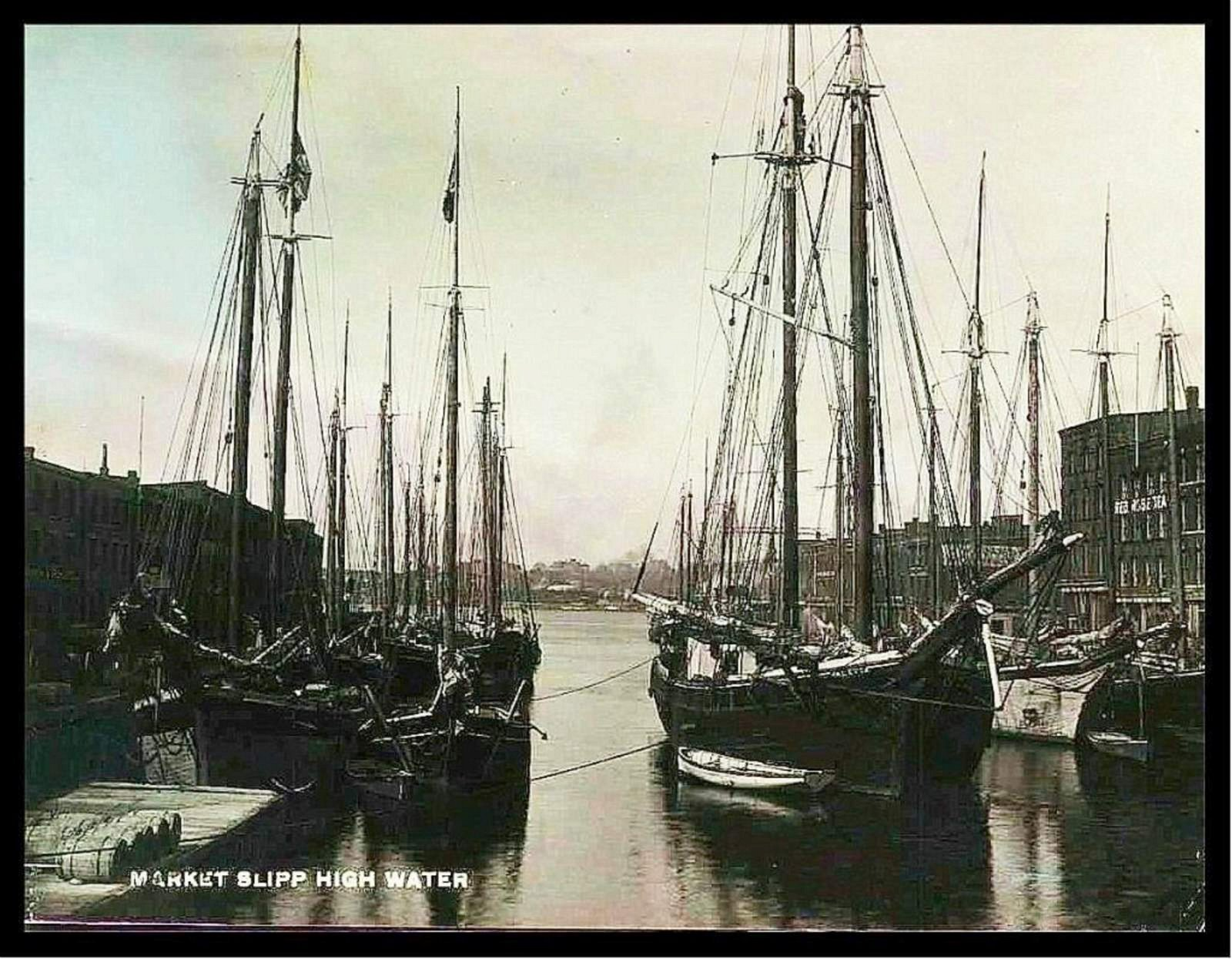 ST.JOHN NB. MARKET SLIPP HIGH WATER