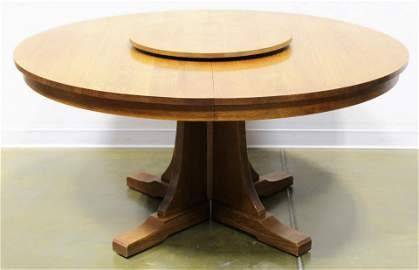 STICKLEY DINING ROOM ROUND PEDESTAL DINING TABLE