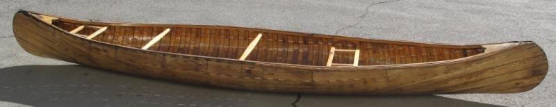 205: VINTAGE CANOE, LIKELY PETERBOROUGH