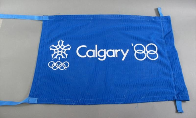 315: CALGARY OLYMPIC FLAGS