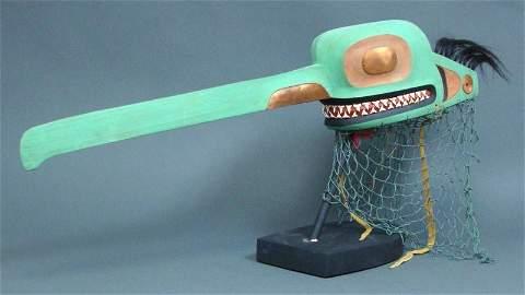 356: TLINGIT MOSQUITO HEADDRESS