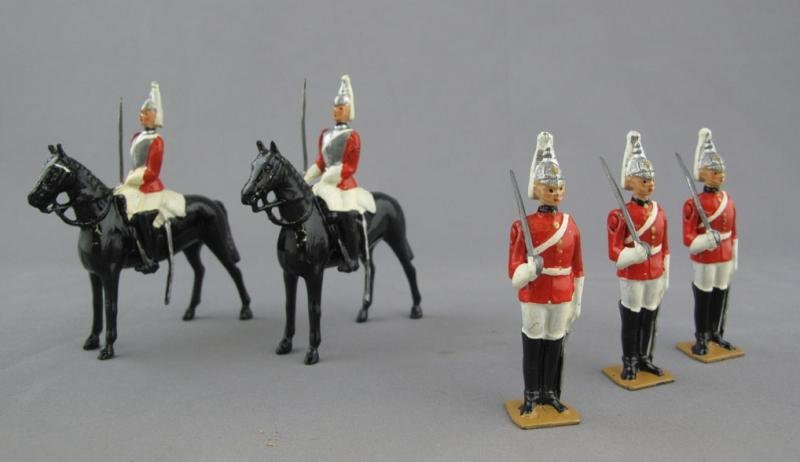 3: BRITIAINS TOY LEAD SOLDIERS