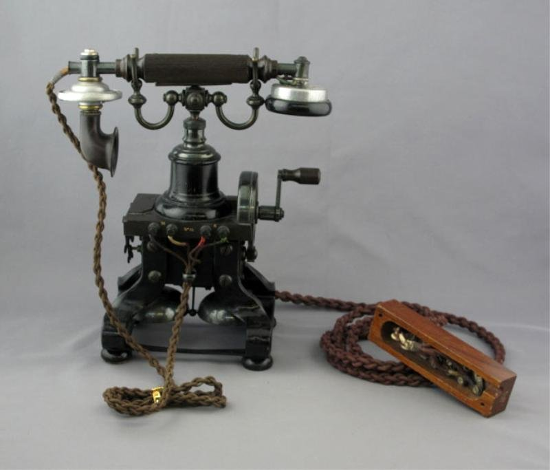 4: NTC / GPO SKELETON TELEPHONE