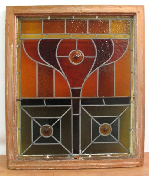 5: STAINED GLASS PANEL