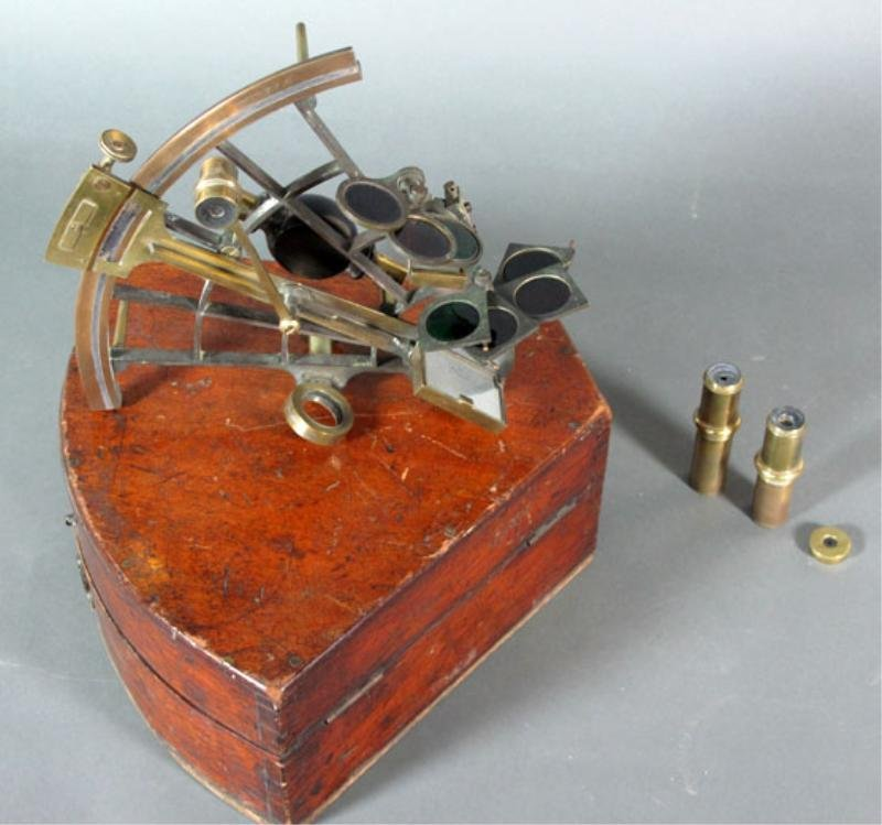 58: SPENCER BROWNING & CO. SEXTANT