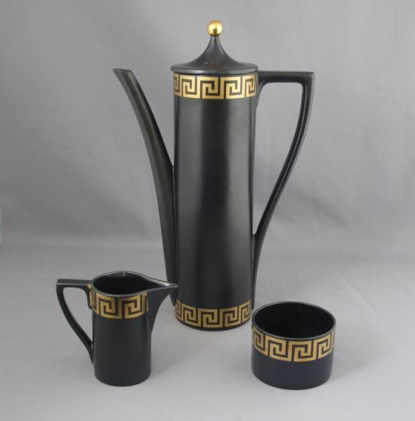302: PORTMEIRION POTTERY COFFEE SERVICE