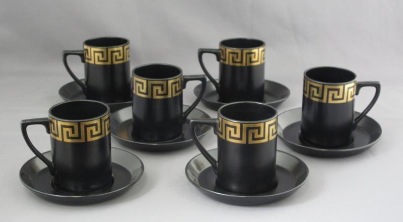 302: PORTMEIRION POTTERY COFFEE SERVICE - 2