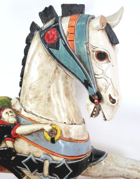 312: CAROUSEL STYLE HORSE - 2