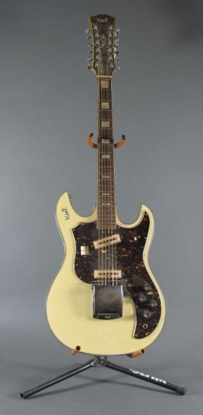 17: KENT 12 STRING ELECTRIC GUITAR