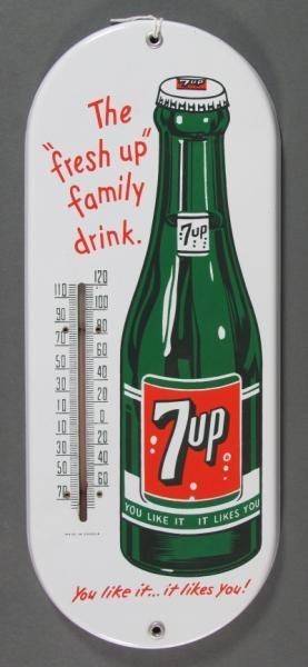 7-UP ADVERTISING THERMOMETER