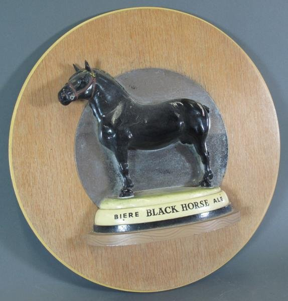 BLACK HORSE ALE BAR MIRROR