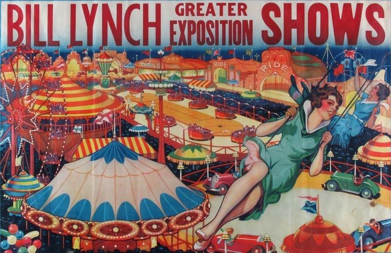 BILL LYNCH CIRCUS POSTER