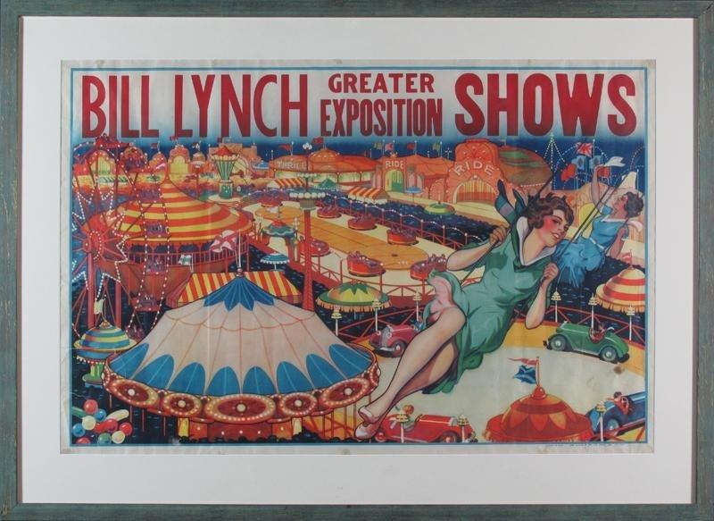 BILL LYNCH CIRCUS POSTER - 2