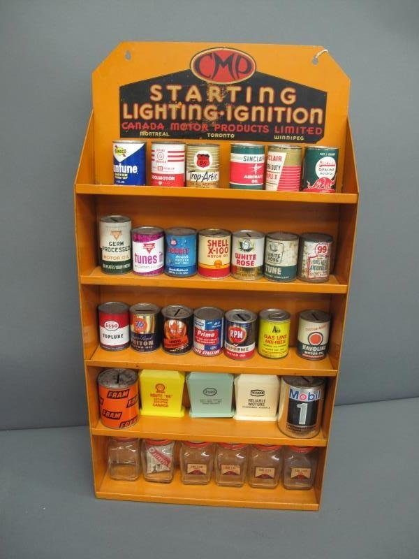 CANADIAN MOTOR PRODUCTS LIMITED DISPLAY SHELF